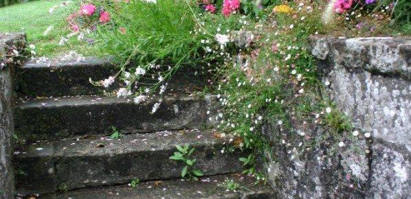 escalier de chapelle à Quimper